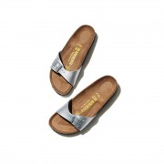 【SALE 20%OFF】ROPE PICNIC PASSAGE 【BIRKENSTOCK】Madrid Birko−Flor(シルバー(93))【返品不可商品】 レディース