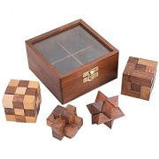 Chopra Chess Inc Wooden Puzzles Multi Color
