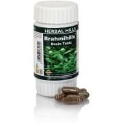 Herbal Hills Ayurvedic Brahmi (Bacopa monnieri) Powder and Extract blend - 60 capsule 300 mg