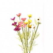 Selyemvirág szellőrózsa műanyag