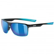 Uvex Occhiale sole Uvex Lgl 33 pol (Colore: black-blue, Taglia: UNI)