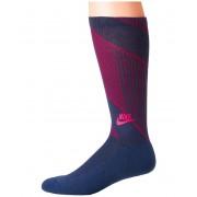 Nike Sportswear Texture Knit Crew Socks NavyTropical Pink