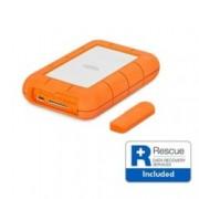 """Твърд диск Lacie 1TB Rugged (оранжев), външен, 2.5"""" (6.35 cm), USB-C"""