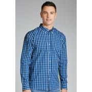 Southcape Casual Shirt - Denim Check - Mens