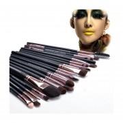 Professional Makeup 20pcs Brushes Set Powder Foundation Eyeshadow Eyeliner Lip Brush Tool-Café
