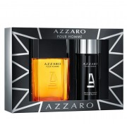 Coffret Azzaro Pour Homme Masc. EAU De Toilette 100 ML + Des 150ml