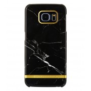 Richmond & Finch Smartphone covers Samsung Galaxy S6 Edge Marble Glossy Zwart