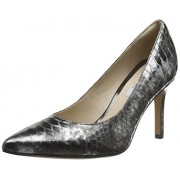 Clarks Women's Dinah Keer Silver Pumps - 6 UK/India (39.5 EU)