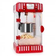 VOLCANO червена, машина за пуканки 300W, бъркалка, неръждаема
