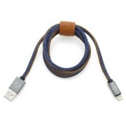 YZSY DCS USB Kabel 100cm Lightning Blue Jeans