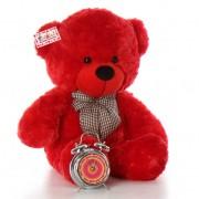 2.5 Feet Red Big Teddy Bear with a Bow