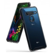 Protectie spate Ringke FUSION pentru LG G8 ThinQ (Transparent fumuriu)