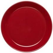 Rörstrand Höganäs assiett med kant 20 cm Röd blank