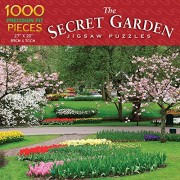 Luv-it Puzzles The Secret Garden - Spring Garden Jigsaw Puzzle 1000 Piece