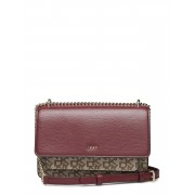 DKNY BAGS Bryant-Sm Chain Flp Bags Small Shoulder Bags/crossbody Bags Röd DKNY BAGS