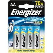 Baterii alcaline AA Energizer 7638900297492, 1.5V, 4 buc