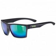 Uvex LGL 29 Mirror S3 Occhiali da sole nero/grigio/turchese/blu