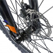 Bicicleta MTB-HT 26 Carpat Explorer C2656C cadru aluminiu verdealbastru