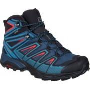Salomon X Ultra 3 Mid GTX Running Shoes For Men(Green)