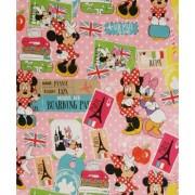 Minnie Mouse op reis geschenkpapier
