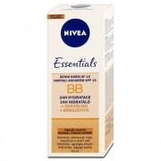 Nivea 5 în 1 BB Cream SPF 15 (5in1 Beautifying Moisturizer) 50 ml tmavší tón pleti