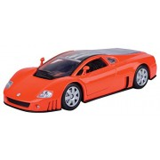 Motormax 1:24 Volkswagen Nardo W12 Show Car Diecast Car (Metallic Orange)