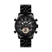 【85%OFF】230-H Air Professional PVD Black ラウンド ウォッチ ブラック ファッション > 腕時計~~メンズ 腕時計