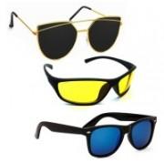 Vitoria Wayfarer, Sports, Cat-eye Sunglasses(Multicolor)