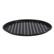 Тава за пица с незалепващо покритие SAPIR SP 1223 P, 33 см, без PFOA, Черен