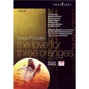 Video Delta Sergei Prokofiev - The love for three oranges - DVD