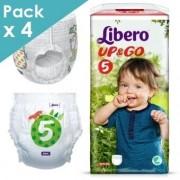 Libero Up&Go 5 - 10 à 14 kg - Carton de 88 langes culottes