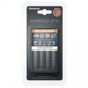 Panasonic Ładowarka Panasonic Eneloop BQ-CC55 + 4 x R6/AA Eneloop PRO 2550mAh BK-3HCDE