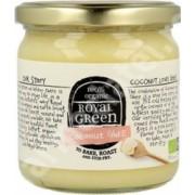 Ulei de cocos extravirgin cu unt Ghee certificat ecologic Royal Green 325 ml
