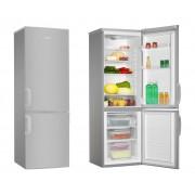 Combina frigorifica Hansa FK261.3X, Static, 229 L, Control mecanic, Sertar fructe legume, Clasa A+, H 169.2 cm, Inox