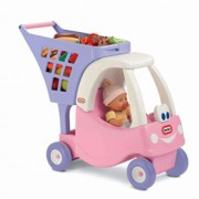 Little Tikes Cozy Shopping Cart, Pink/Purple