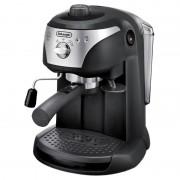 Espressor cu pompa DeLonghi EC221, 1100 W, 1 l, 15 bar, dispozitiv spumare, sistem cappuccino, oprire automata, Negru