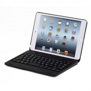 Javu - iPad Mini 4 Toetsenbord Hoes - Bluetooth Keyboard Cover Zwart