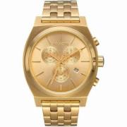 RL-03436-01: NIXON TIME TELLER CHRONO ALL GOLD - A972-502