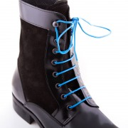 Bondi Laces Boot Laces Bondi Blue / Silver Tips BOOTBL1S