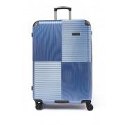 Kenneth Cole New York Lexington Ave 8-Wheel 28 Spinner Suitcase ICE BLUE