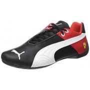 Puma Men's Future Cat SF OG H2T Puma Black, Puma White and Rosso Corsa Leather Sneakers - 11 UK/India (46 EU)