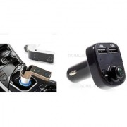 Combo of Car G7 Bluetooth Device with X8 Dual USB Car Charger/Bluetooth handfree