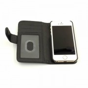 39.95 iPhone 5/5S PU Läder cover/ Cardholder Svart