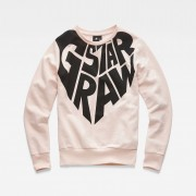 G-star RAW Filles Sweater Rose