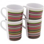 Setul de căni Outwell Blossom Mug set 4 buc. Culoarea: alb