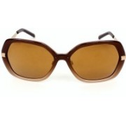 Burberry Oval Sunglasses(Brown)