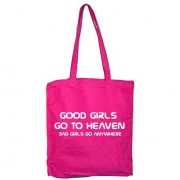 Good Girls Go To Heaven Tote Bag, Tote Bag