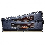 Memorie G.Skill Flare X Black 32GB (2x16GB) DDR4 2400MHz CL15 1.2V AMD Ryzen Ready Dual Channel Kit, F4-2400C15D-32GFX