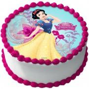 Disney Prinsessor Tårtoblat Sockerpasta A