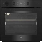 Cuptor incorporabil Beko BIS14300BPS, 71 L, Grill, Autocuratare pirolitica, Steam Assisted Cooking, Clasa A+, Negru